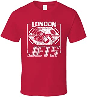 Retro Tv Show Red Dwarf London Jets Red T Shirt