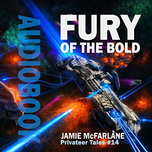 Fury of the Bold audiobook cover art