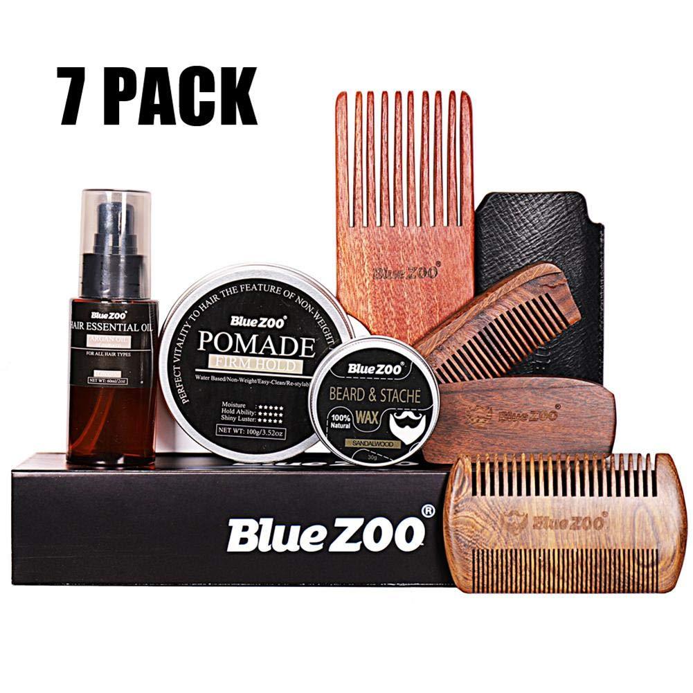 Funihut 7PCS / Set Kit De Cardado De Barba para El Cuidado De ...