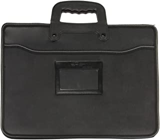 Portable Large Portfolio Briefcase Business Bag Folding Expandable Pen File Document A6 Paper Carrying Case Holder Laptop Bag with Handles