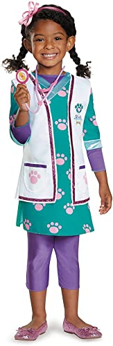 Disguise 88095K Doc Pet Vet Deluxe Costume, Medium (7-8) by Disguise