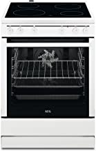 AEG 30006VL-WN - Cocina de pie de 60 cm con vitrocerámica/función grill/A