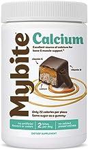 Mybite Calcium Chocolate Supplement, 45 Bites, Calcium Plus Vitamin D and K to Support Bone and Immune Health