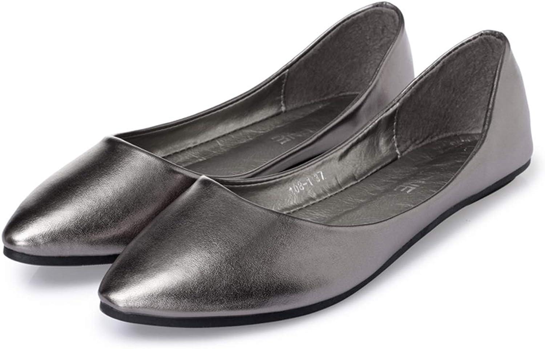Owen Moll Women Flats, Fashion Pointed Toe Slip-on Ballet Flats Women 5 colors