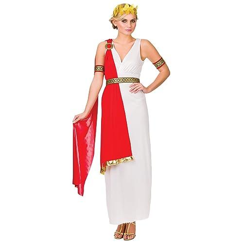 10e459b01d2 Ladies Glamorous Roman Lady Godess Halloween Fancy Dress Up Party Costume  New