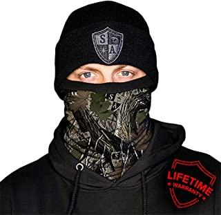 SA Company Fleece Face Shield Works as Balaclava - Dregs Forest Camo