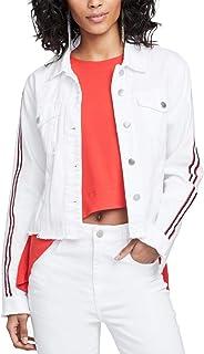 RACHEL Rachel Roy Womens Spring Distressed Denim Jacket