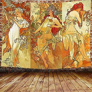 Best art nouveau woman Reviews