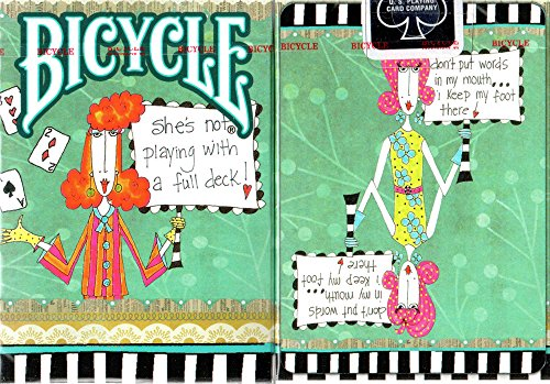 Bicycle cartes à jouer Dolly Mamma Deck Playing Cards