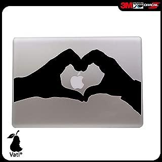 Unibody 13 15 pouces pour ordinateur portable Vati Feuilles Art amovible peau de Lucky Swan vinyle autocollant Decal noir pour Apple Macbook Pro Air Mac 13 15 pouces