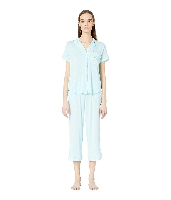 Kate Spade New York Capris Pajama Set (Bridal Confetti Dot) Women