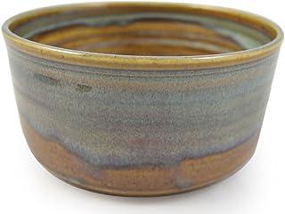 American Made Stoneware Pottery Cobbler Crock Baking Dish, 1.5 Qt, Sea Oats Color