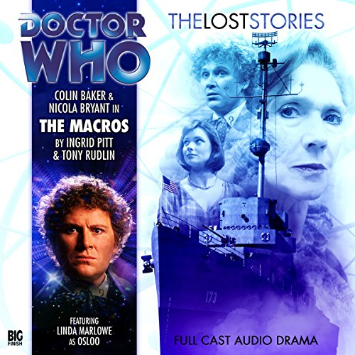 Doctor Who - The Lost Stories - The Macros cover art