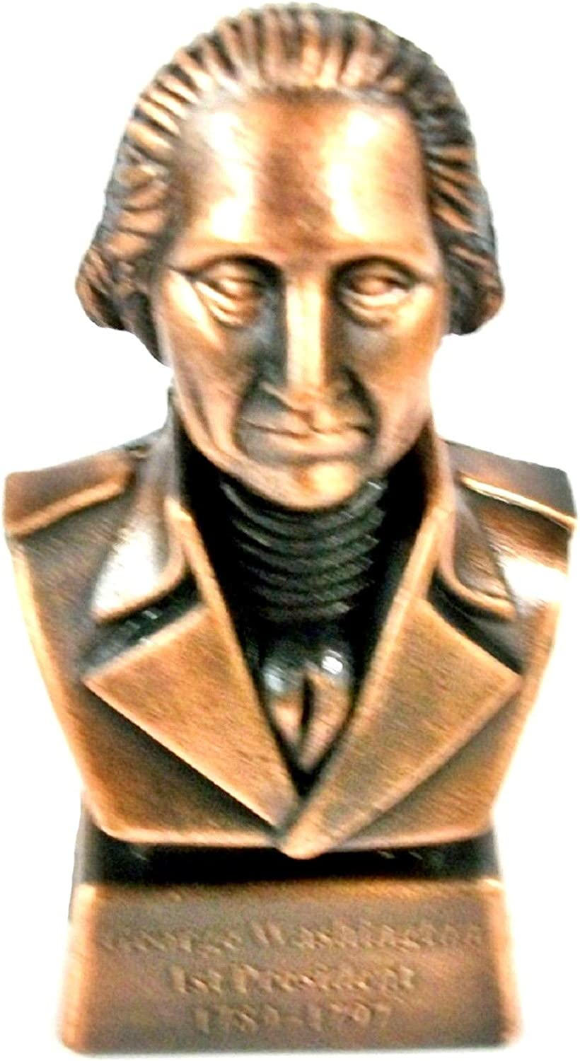George Washington price 1st Direct stock discount President Bust Collectible Metal Die Cast