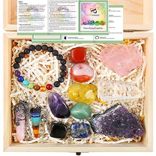 13 Pieces Healing Crystals Set