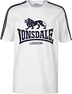 Lonsdale - Camiseta para hombre - Con logo grande