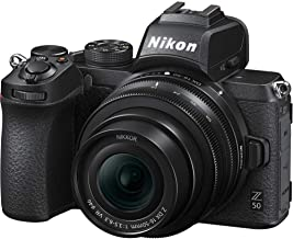 Nikon Z50 with 16-50mm Lens Mirrorless Digital Camera - Black