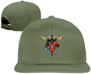 Cool Bon Jovi Rock Band Adjustable Baseball Caps