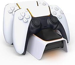 Carregador controlador PS5 atualizado AVIDET, carregador de controle PS5 compatível com Playstation 5 estação de carregame...