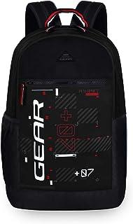 Gear Basic 2 20 Ltrs Black-Grey Casual Backpack (BKPBASIC20104)