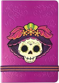 By Mexico, Cuaderno clásico, Hojas Rayadas, Libreta modelo Catrina 80 hojas