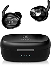 Wireless Earbuds,Bluetooth Headphones 5.0 Deep Bass HiFi Stereo Sound Earphones 16H Playtime with Charging Case and Built ...