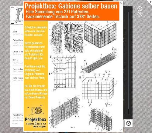 Gabione selber bauen: Deine Projektbox inkl. 271 Original-Patenten bringt Dich mit Spaß ans Ziel!