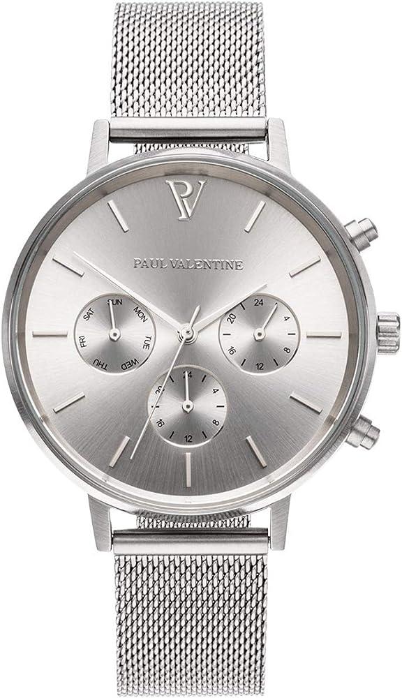 Paul valentine® orologio donna multifunctional - in acciaio inox di qualità PVT3840201