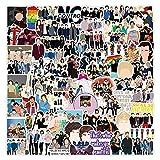 100 Piezas One Direction Pegatinas para Niños, Niñas, Adolescentes, Coloridas Pegatinas Impermeables para Matraces, Portátiles, Teléfonos, Botellas de Agua, Bonitos Estéticos
