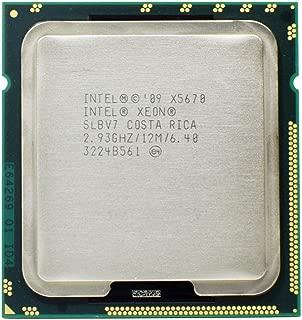 Intel Xeon SLBV7 X5670 2.93GHz 6.4GT/s 12MB L3 Cache Socket LGA1366