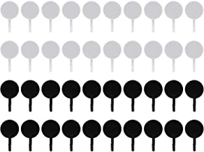 YARNOW 40pcs Plastic Wall Hook Adhesive Towel Hooks Bathroom Waterproof Hooks Clothes Coat Hanger Home Wall Decoration (Bl...