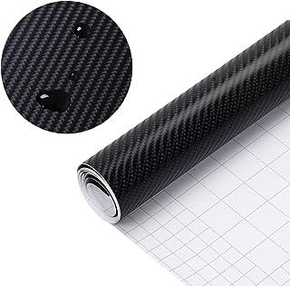 Decocar リアルカーボンシート 耐熱 耐水 伸縮 カーボディラッピングシート 4D曲面対応 外装 内装 艶あり 光沢 1.52M*1M