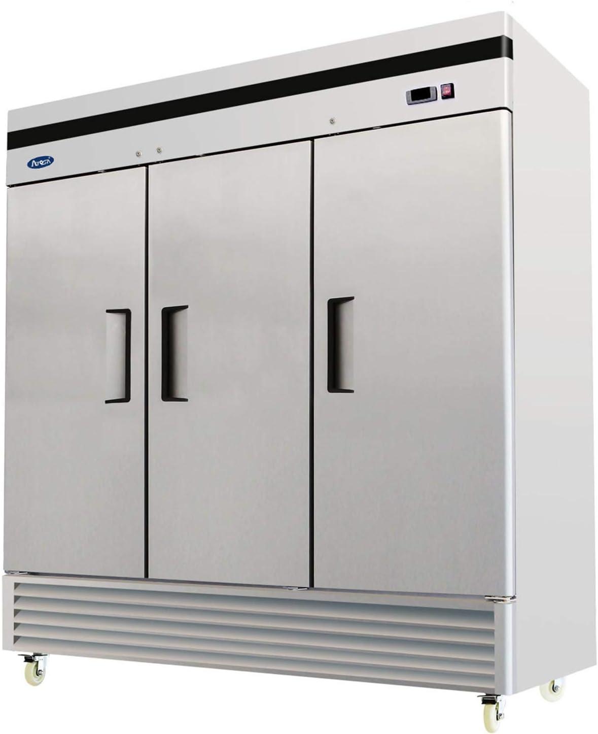 Atosa MBF8508 Bottom Mount New life 3 Three Refrigerator Door