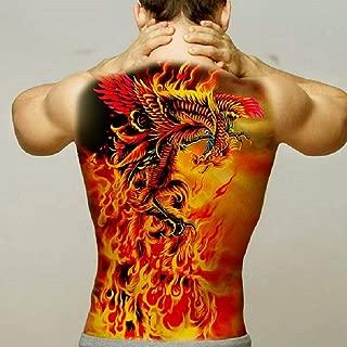 Tatuaje Temporal,Pegatinas del Cuerpo De Transferencia Full Back ...