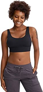 Women's Gym Bra, U Type Shockproof for Fitness Workout Running Sports Yoga Tank Top,Black,4