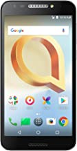 """Alcatel A30 PLUS Unlocked Smartphone (AT&T/T-Mobile/Verizon) - 5.5"""" HD Screen, 16 GB, 5MP Camera with Front-facing Flash, and Android 7.0 Nougat [Black]"""
