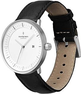 Nordgreen Philosopher – Reloj clásico escandinavo, unisex, en plata, analógico, mecanismo de cuarzo, 10015