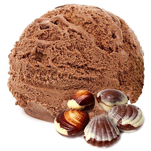 Belgische Praline Geschmack 1 Kg Gino Gelati Eispulver Softeispulver für Ihre Eismaschine