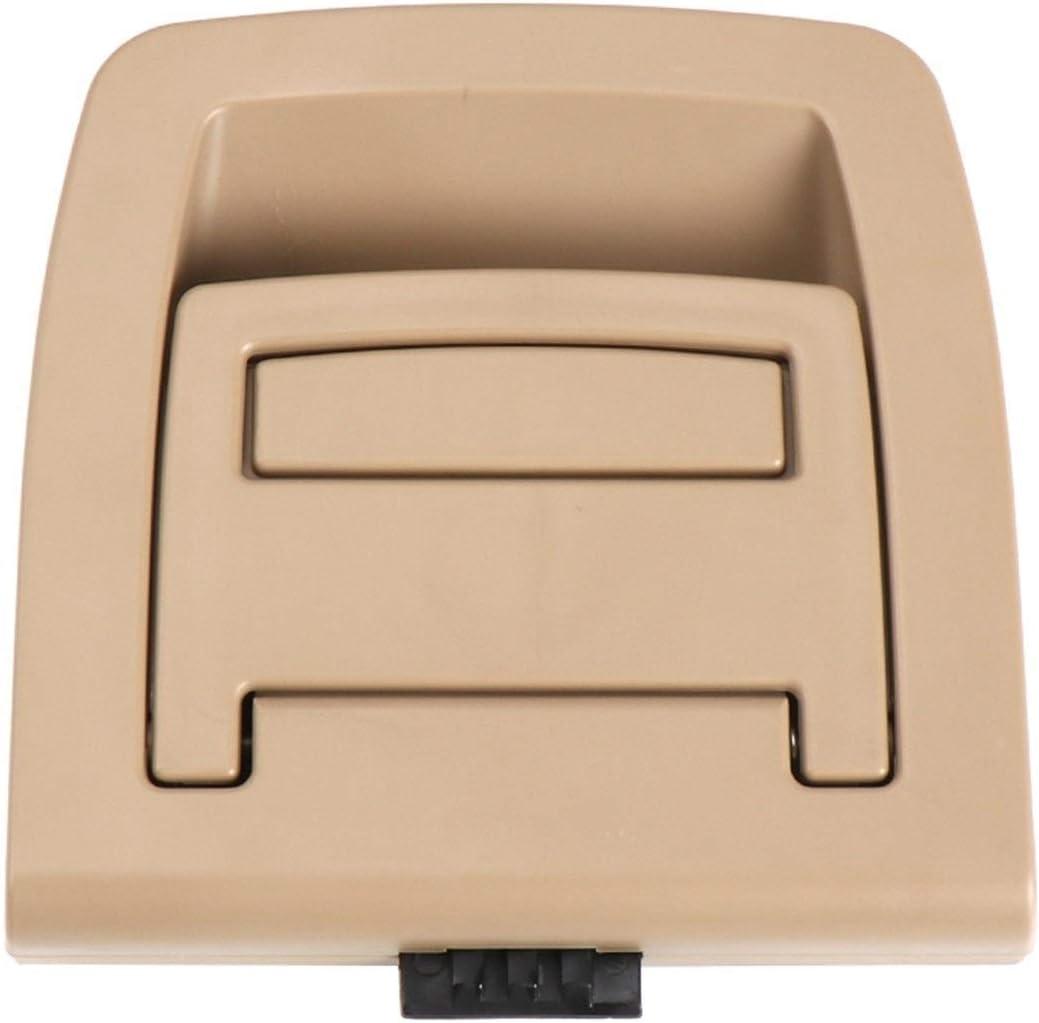 Graciella Coffre de Voiture arri/ère Couvercle inf/érieur Plaque Tapis de Sol Tapis Poign/ée Auto Accessoires for BMW X5 E70 E71 X6 2006-2013 51476958161 Graciella Color : Beige No Lock Hole