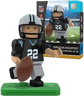 Oyo Sportstoys NFL Carolina Panthers Sports Fan Bobble Head Toy Figures, Black/Blue, One Size