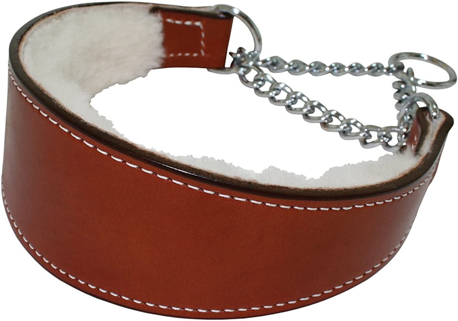 Martingale Collar Within Shearling 11 4  X 10  TAN