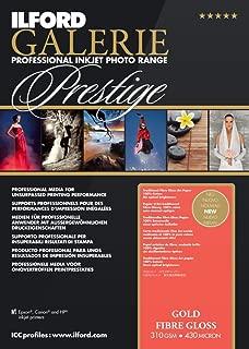ILFORD 2004032 GALERIE Prestige Gold Fibre Gloss - 13 x 19 Inches, 25 Sheets