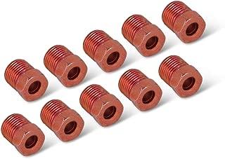 Steel Tube Nut, 3/16 (7/16-24 Inverted), 10/bag