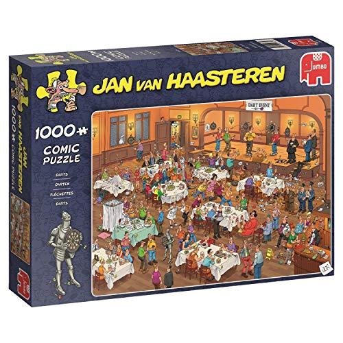 Jumbo 19076 Darts Jvh   1000 Piezas