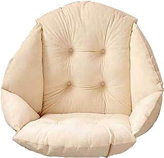HB.YE Coussin de Chaise avec Dossier siège Coquille Fauteuil Velours Douillet Elastique Impermeable pour Chaise en Rotin P...