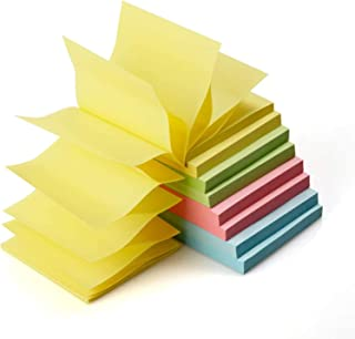 Pop Up Sticky Notes Self Stick Notes 90Sheets/Pad 3x3 inch 8 Pads/Pack 720 Sheets Total Individual Package