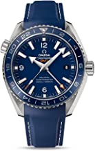 Omega Planet Ocean GMT Blue Dial Blue Rubber Mens Watch 23292442203001