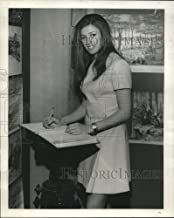 Historic Images - 1970 Press Photo Anne Kendal Director of Press for Carlton Tower in New Orleans.
