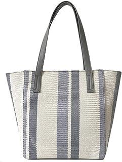 Nrpfell Einkaufs Tasche Umhnge Tasche Hand Taschen für Frauen Segeltuch Tote Strand Reisen Wochenende Tasche Gelb
