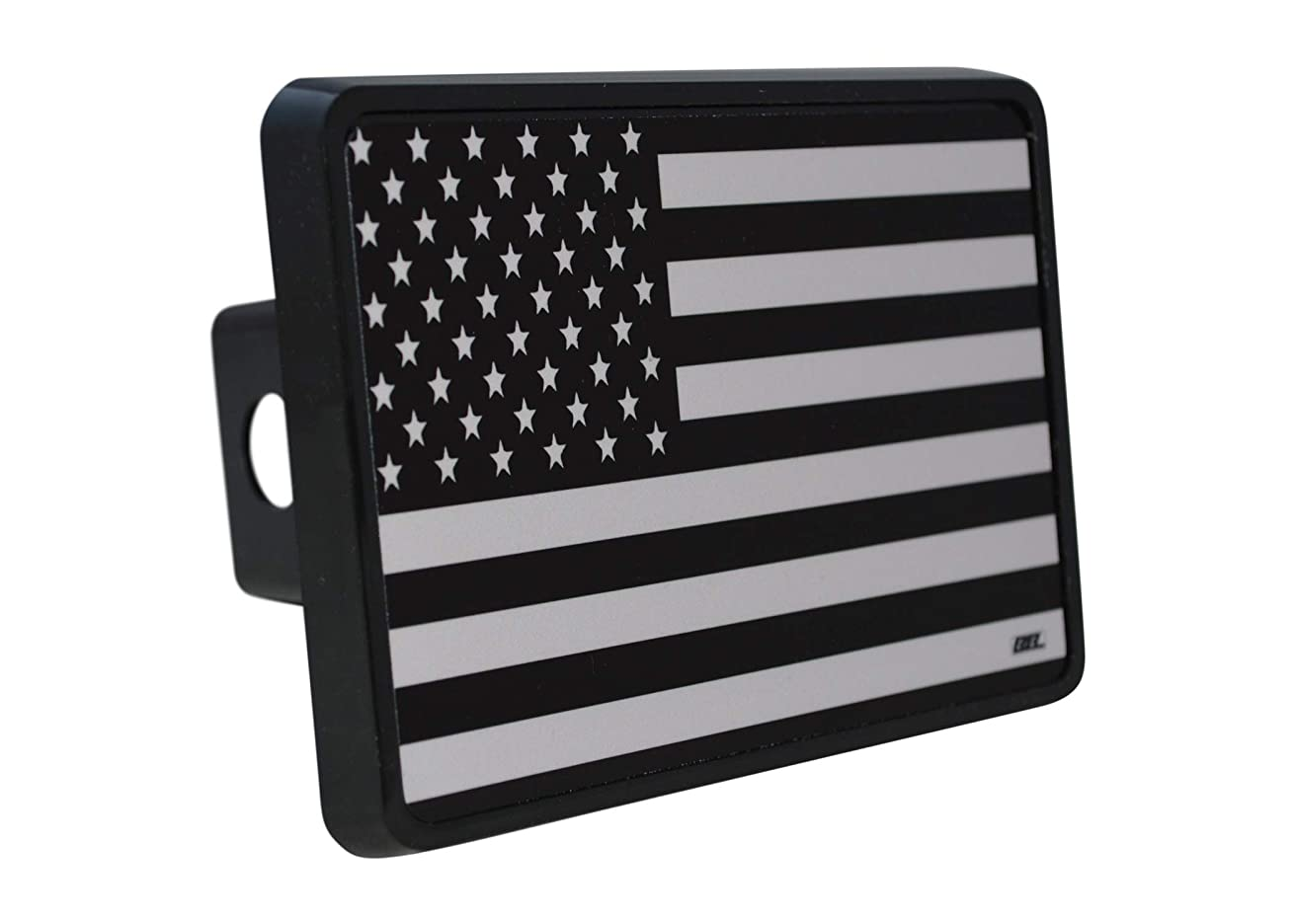 Rogue River Tactical USA American Flag Trailer Hitch Cover Plug US Patriotic Subdued Military Veteran Flag